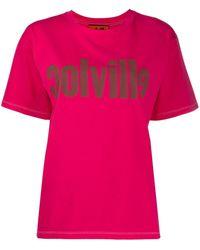 Colville ロゴ Tシャツ - ピンク