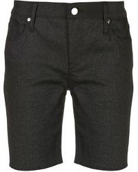 RTA Tailored Straight Fit Shorts - Black