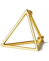 Shihara Triangle Earring 15 - Metallic