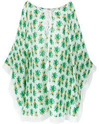 Martha Medeiros - Pineapple Print Dress - Lyst