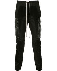 Rick Owens Cargo Skinny Pants - Black