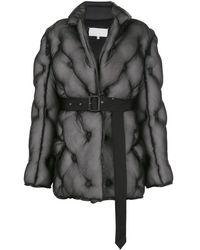 Maison Margiela キルティング ジャケット - ブラック