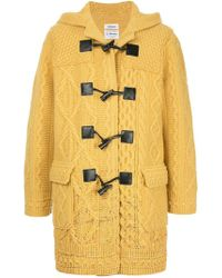 Coohem - Knitted Duffle Coat - Lyst