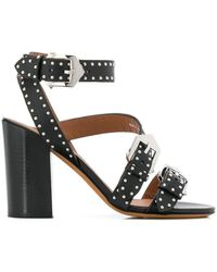 Givenchy - Buckle Detail Sandals - Lyst