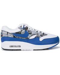 4e271cc1e4 Lyst - Nike Atmos Air Max 1 Print Sneaker in Blue for Men