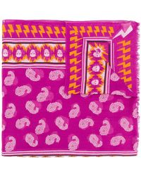 Zadig & Voltaire - Bindi Paisley Print Scarf - Lyst