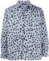Pleasures Dalmatian シャツジャケット - ブルー