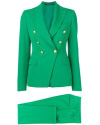 Tagliatore T-alicya Two-piece Suit - Green