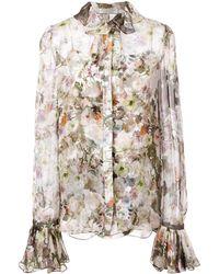 Adam Lippes Floral Print Shirt - Meerkleurig