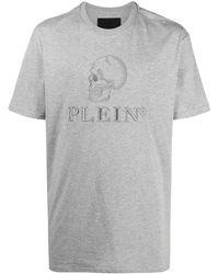 Philipp Plein - Футболка С Вышитым Логотипом - Lyst