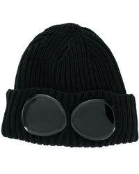 C.P. Company goggle Beanie - Black