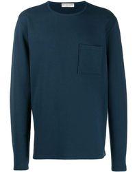 Bottega Veneta パッチポケット セーター - ブルー