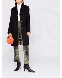 Versace Пальто Medusa - Черный