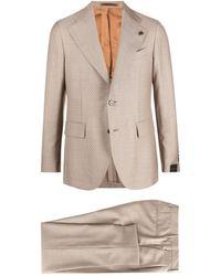 Gabriele Pasini Single-breasted Tailored Suit - Multicolour