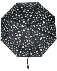 Karl Lagerfeld - Paraguas K/Ikonik estampado - Lyst