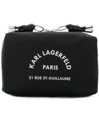 Karl Lagerfeld Rue St Guillaume Washbag - Black