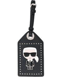 Karl Lagerfeld Ikonik 3d Pin タグ - ブラック