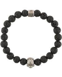 Northskull | Skull Charm Bracelet | Lyst