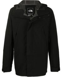 The North Face Chest Logo Coat - Black