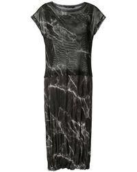 UMA | Raquel Davidowicz Carpenter Midi Dress - Black