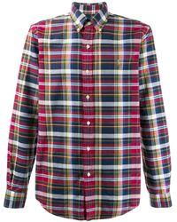 Polo Ralph Lauren Camisa a cuadros - Rojo