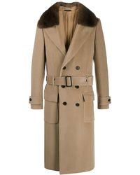 nouveau concept 2fd9e 7eab5 Manteau à taille ceinturée - Neutre