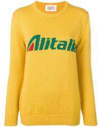 Alberta Ferretti - Alitalia Knit Sweater - Lyst