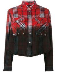 DIESEL チェックシャツ - ブラック