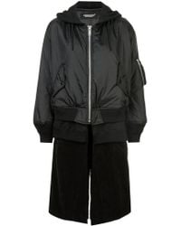 Undercover - Layered Bomber Jacket - Lyst