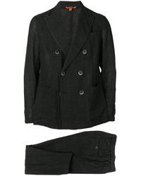 Barena ツーピース ダブルスーツ - ブラック