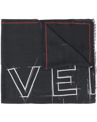 Givenchy Oversized-Schal mit Logo-Print - Schwarz