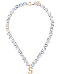 Ca&Lou | Embellished S Necklace | Lyst