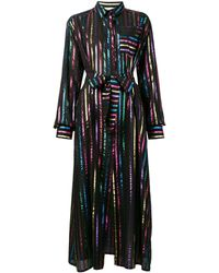 The Attico メタリック ドレス - ブラック