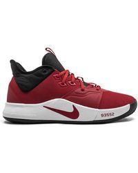 Nike Высокие Кроссовки Pg 3 - Красный