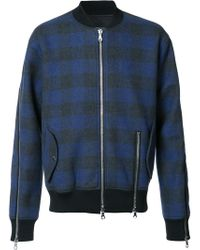 Mostly Heard Rarely Seen - Plaid Bomber Jacket - Lyst