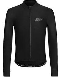 Pas Normal Studios Stow Away Zipped Cycling Jacket - Black