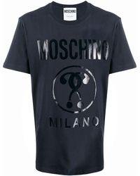 Moschino - Camiseta con signos de interrogación - Lyst