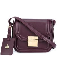 Lanvin Mini 'Lala' Crossbody Bag - Red