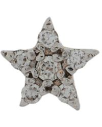 Kismet by Milka Orecchino con stella in oro rosa 14kt e diamante - Metallizzato