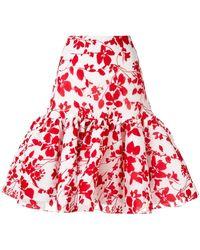 Bambah Sevilla Ruffled Skirt - White