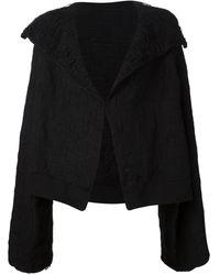 Yohji Yamamoto オーバーサイズジャケット - ブラック