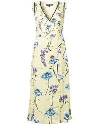 Markus Lupfer - Floral Print Dress - Lyst