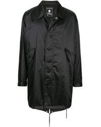 MASTERMIND WORLD パーカーコート - ブラック