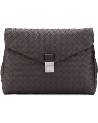 Bottega Veneta Borsa porta pc Intrecciato - Multicolore