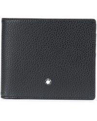 Montblanc Бумажник С Логотипом - Черный