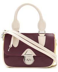 Sarah Chofakian Mini Leather Bag - Red