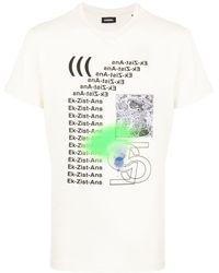 DIESEL T-shirt Met Print - Meerkleurig