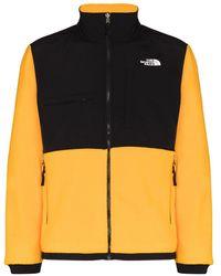 The North Face Желтая Флисовая Куртка Denali 2-желтый
