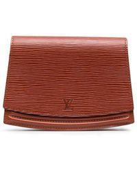 Louis Vuitton 1991 プレオウンド エピ ベルトバッグ - ブラウン