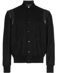 Saint Laurent - Varsity Jacket - Lyst